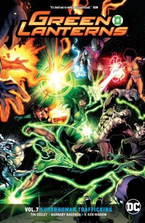 GREEN LANTERNS VOLUME 7 SUPERHUMAN TRAFFICKING GRAPHIC NOVEL