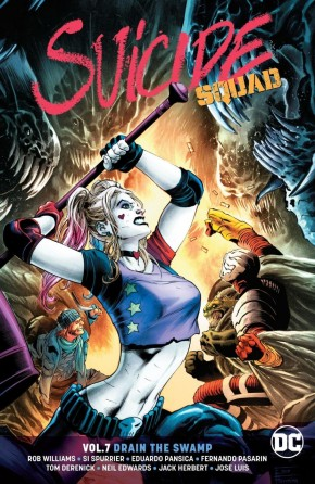 SUICIDE SQUAD VOLUME 7 DRAIN THE SWAMP GRAPHIC NOVEL