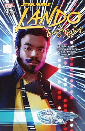 STAR WARS LANDO DOUBLE OR NOTHING GRAPHIC NOVEL