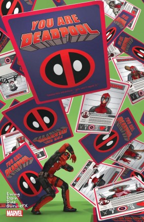YOU ARE DEADPOOL GRAPHIC NOVEL