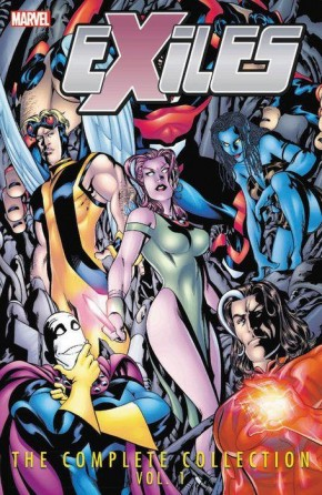 EXILES THE COMPLETE COLLECTION VOLUME 1 GRAPHIC NOVEL (NEW PRINTING)
