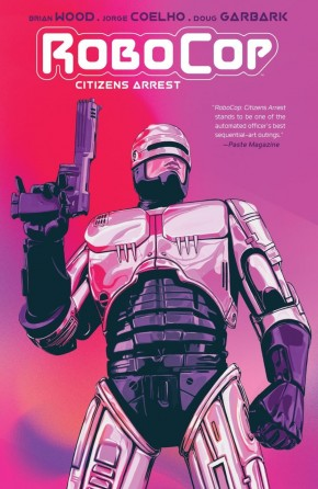 ROBOCOP CITIZENS ARREST GRAPHIC NOVEL