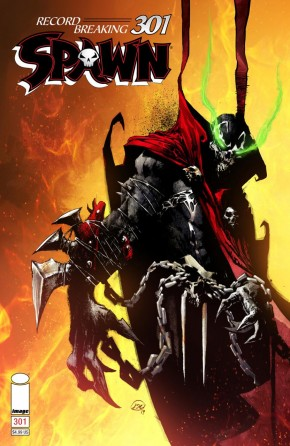 SPAWN #301 COVER D ALEXANDER