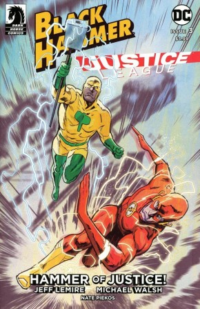 BLACK HAMMER JUSTICE LEAGUE #3