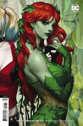 HARLEY QUINN & POISON IVY #1 POISON IVY CARD STOCK VARIANT