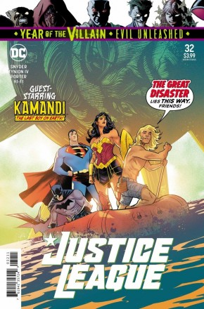 JUSTICE LEAGUE #32 (2018 SERIES)