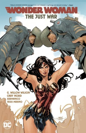 WONDER WOMAN VOLUME 1 THE JUST WAR HARDCOVER
