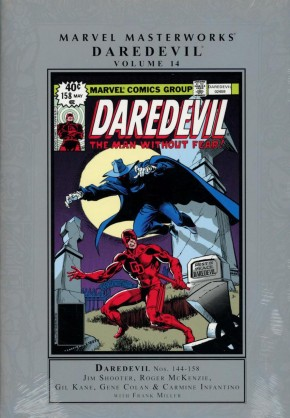 MARVEL MASTERWORKS DAREDEVIL VOLUME 14 HARDCOVER