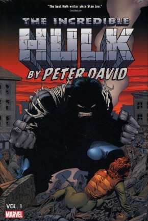 INCREDIBLE HULK BY PETER DAVID OMNIBUS VOLUME 1 HARDCOVER