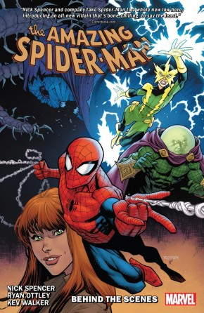 AMAZING SPIDER-MAN BY NICK SPENCER VOLUME 5 BEHIND THE SCENES GRAPHIC NOVEL