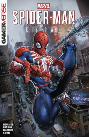 SPIDER-MAN CITY AT WAR GRAPHIC NOVEL