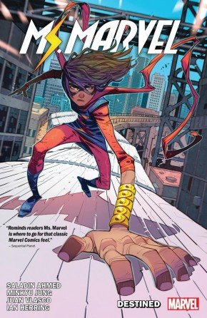 MS MARVEL BY SALADIN AHMED VOLUME 1 DESTINED GRAPHIC NOVEL