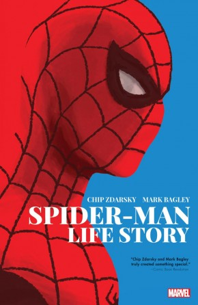 SPIDER-MAN LIFE STORY GRAPHIC NOVEL