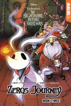 DISNEY MANGA NIGHTMARE CHRISTMAS ZEROS JOURNEY VOLUME 3 GRAPHIC NOVEL