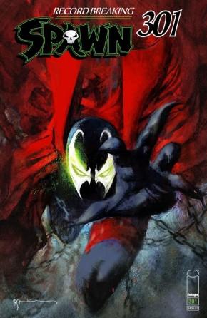 SPAWN #301 COVER M SIENKIEWICZ