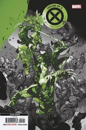 HOUSE OF X #4 (2ND PRINTING)