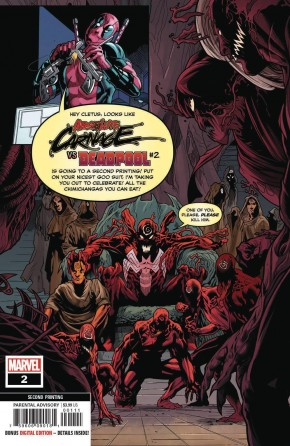 ABSOLUTE CARNAGE VS DEADPOOL #2 (2ND PRINTING)