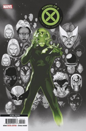 POWERS OF X #4 (2ND PRINTING)