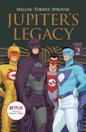 JUPITERS LEGACY VOLUME 2 NETFLIX EDITION GRAPHIC NOVEL