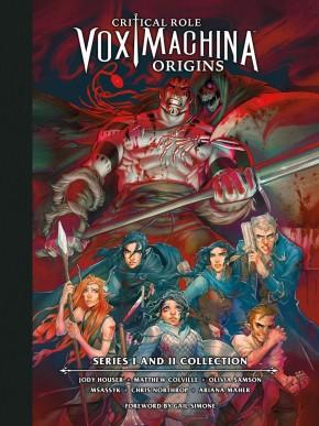 CRITICAL ROLE VOX MACHINA ORIGINS LIBRARY EDITION VOLUME 1 HARDCOVER