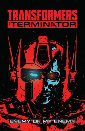 TRANSFORMERS VS THE TERMINATOR GRAPHIC NOVEL