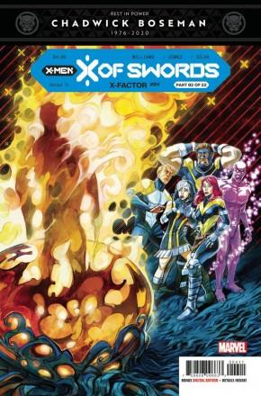 X-FACTOR #4 (2020 SERIES) X OF SWORDS TIE-IN