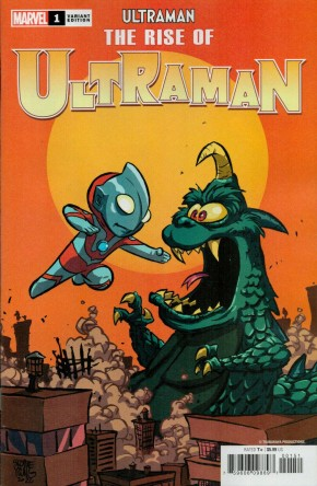 RISE OF ULTRAMAN #1 SKOTTIE YOUNG BABY VARIANT COVER