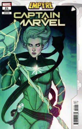 CAPTAIN MARVEL #21 (2019 SERIES) FRISON EMPYRE VARIANT