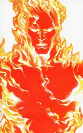 FANTASTIC FOUR #24 (2018 SERIES) HUMAN TORCH TIMELESS VARIANT