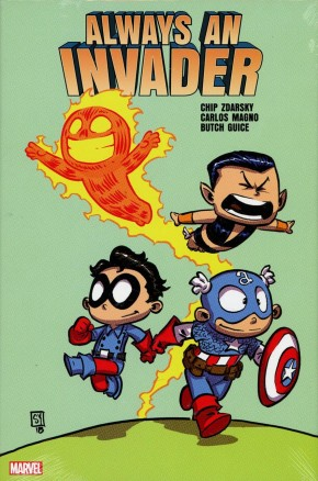 ALWAYS AN INVADER HARDCOVER SKOTTIE YOUNG DM VARIANT COVER