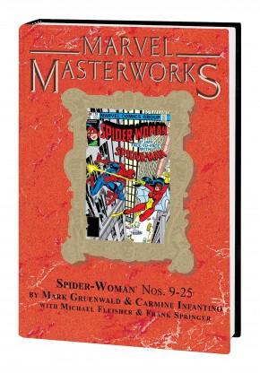 MARVEL MASTERWORKS SPIDER-WOMAN VOLUME 2 DM VARIANT #299 EDITION HARDCOVER