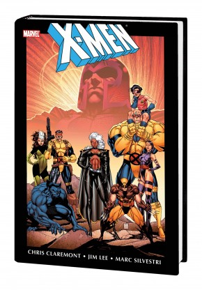 X-MEN BY CHRIS CLAREMONT AND JIM LEE OMNIBUS VOLUME 1 HARDCOVER