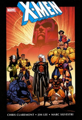 X-MEN BY CHRIS CLAREMONT AND JIM LEE OMNIBUS VOLUME 1 HARDCOVER NOTE: Small Dust Cover Corner Wear
