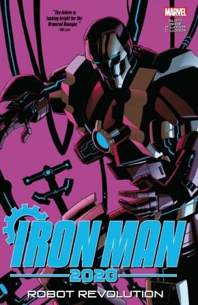 IRON MAN 2020 ROBOT REVOLUTION GRAPHIC NOVEL