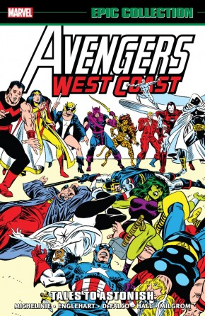AVENGERS WEST COAST EPIC COLLECTION TALES TO ASTONISH GRAPHIC NOVEL