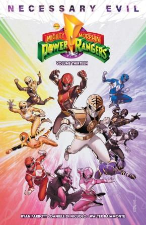 MIGHTY MORPHIN POWER RANGERS VOLUME 13 GRAPHIC NOVEL