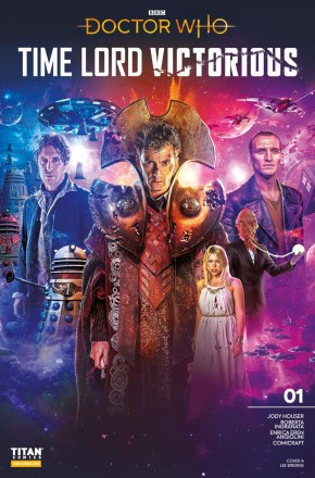 DOCTOR WHO TIME LORD VICTORIOUS #1 COVER A