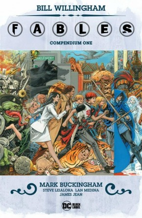 FABLES COMPENDIUM VOLUME 1 GRAPHIC NOVEL