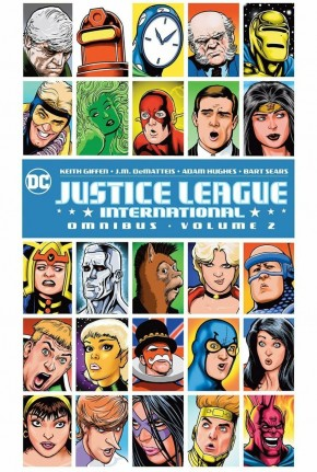 JUSTICE LEAGUE INTERNATIONAL OMNIBUS VOLUME 2 HARDCOVER