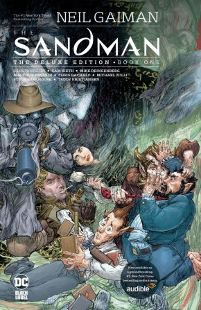 SANDMAN THE DELUXE EDITION BOOK 1 HARDCOVER