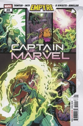 CAPTAIN MARVEL #20 (2019 SERIES) EMPYRE TIE-IN 2ND PRINTING