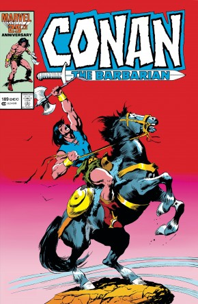 CONAN THE BARBARIAN THE ORIGINAL MARVEL YEARS OMNIBUS VOLUME 7 HARDCOVER BUSCEMA DM VARIANT COVER
