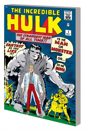 MIGHTY MARVEL MASTERWORKS INCREDIBLE HULK VOLUME 1 GREEN GOLIATH DM VARIANT COVER GRAPHIC NOVEL