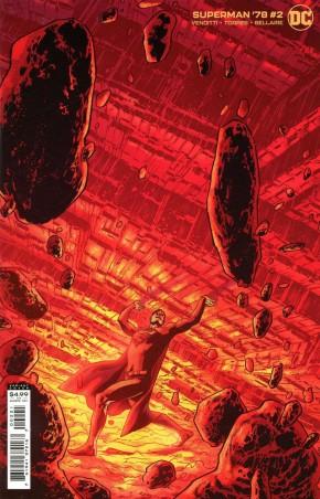 SUPERMAN 78 #2 BRYAN HITCH CARD STOCK VARIANT