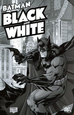 BATMAN BLACK AND WHITE VOLUME 1 GRAPHIC NOVEL