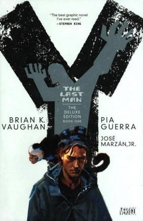 Y THE LAST MAN VOLUME 1 DELUXE HARDCOVER