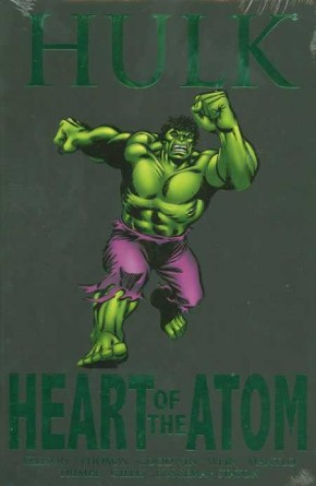 HULK HEART OF THE ATOM HARDCOVER