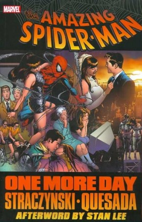 SPIDER-MAN ONE MORE DAY GRAPHIC NOVEL