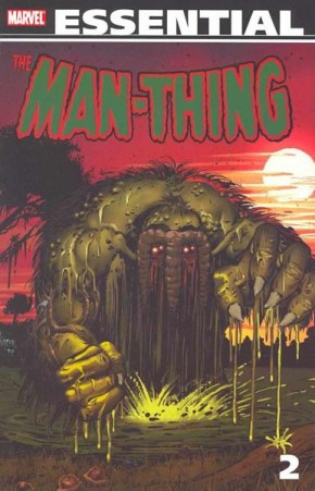 ESSENTIAL MAN-THING VOLUME 2 GRAPHIC NOVEL