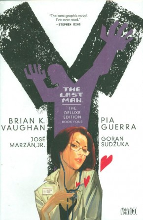 Y THE LAST MAN VOLUME 4 DELUXE EDITION HARDCOVER